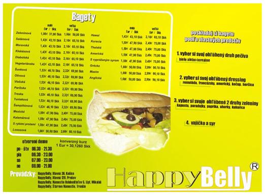 מהאתר של Happy Belly Bageteria