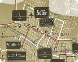 San Rafael map