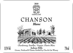 Chanson Blanc 2010
