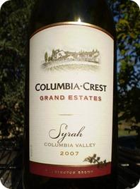 Columbia Crest GE Syrah 2007