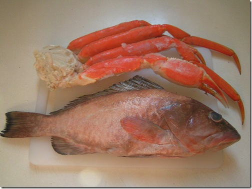 Grupper&Snow Crab