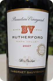 Beaulieu Vineyard Rutherford CS 2007