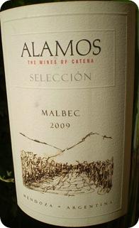 Alamos Malbec Selection 2009